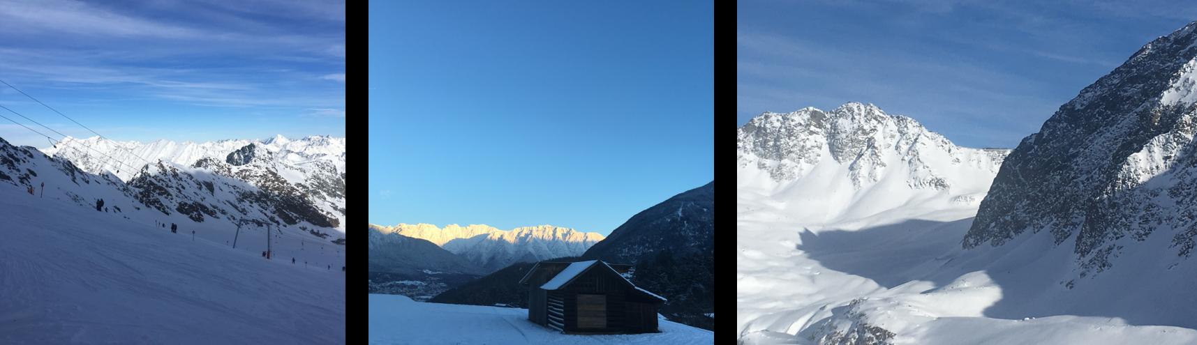 find bilillg skiferie i østrig, flotte alper
